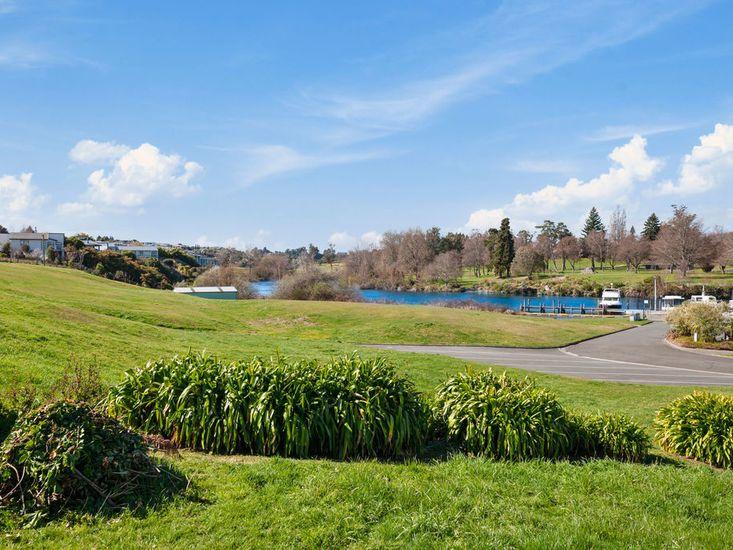 Reserve and Waikato River