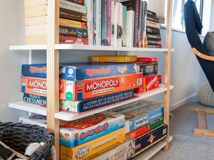 Book / Game Shelf