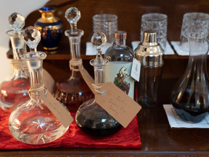 Collection of fine spirits