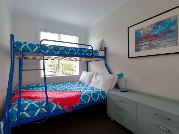 Bedroom three - bunk bed