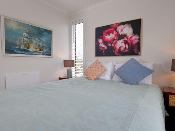 Bedroom one - artwork