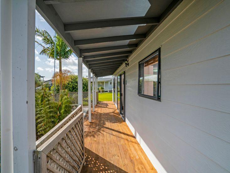 Wrap around veranda