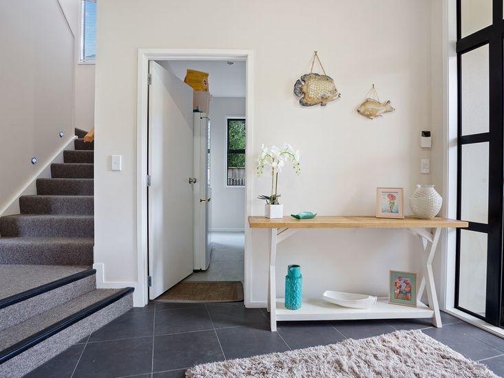 Downstairs entranceway