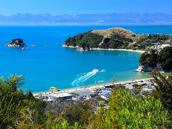 Stunning views from Kaiteri House