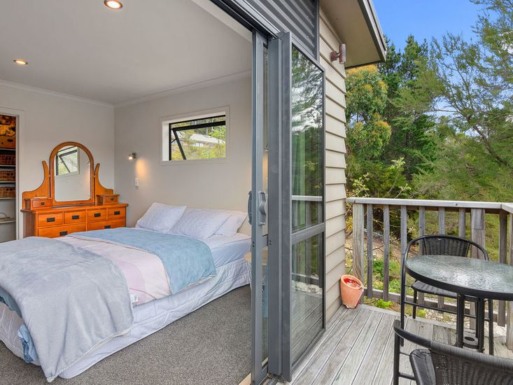 Private balcony for master bedroom