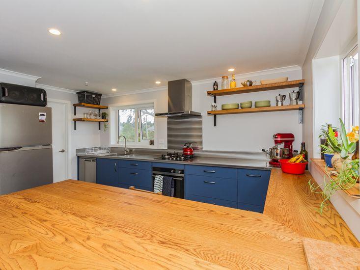 Spacious kitchen area