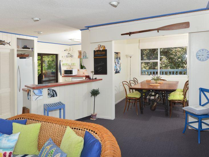 Vibrant furnishings