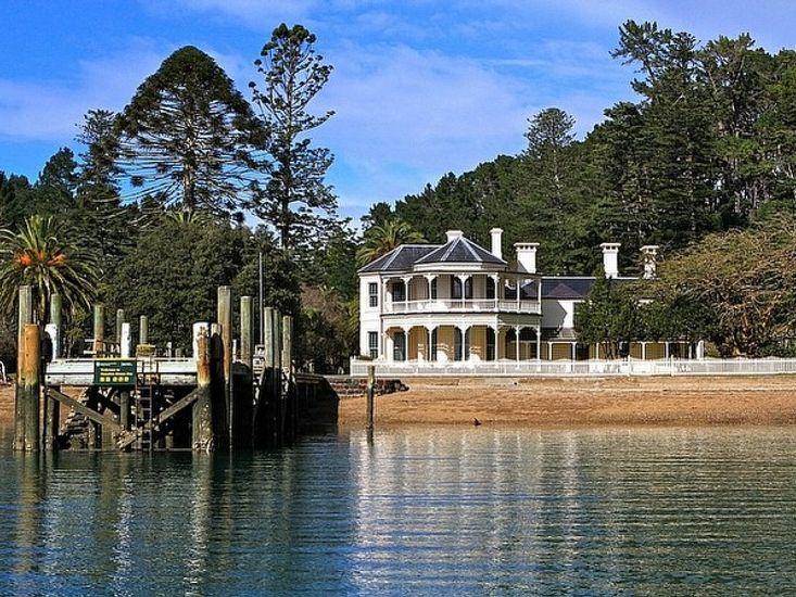 Mansion House on Kawau Island