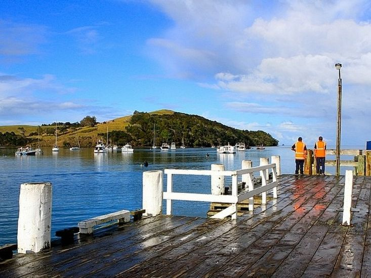 Sandspit Wharf - Easy Driving Distance from Property